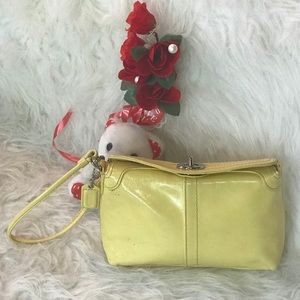 Authentic Coach Wristlet